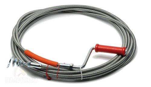 Сантехнический трос для прочистки канализационных труб