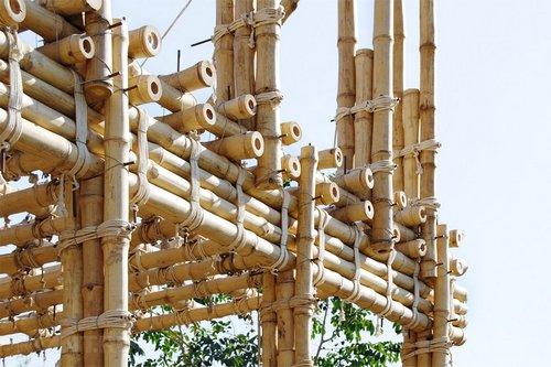 Строительство из бамбука