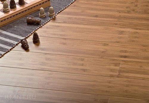Массивная доска из бамбука