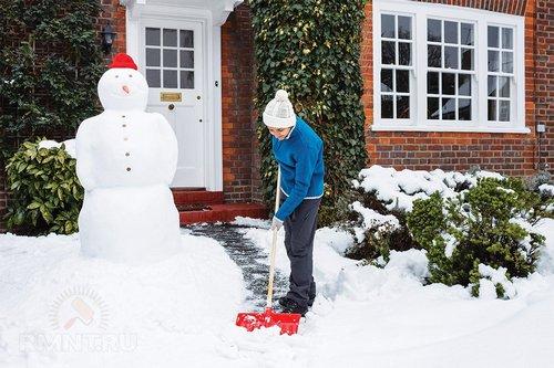 Что делать со снегом на участке: 10советов