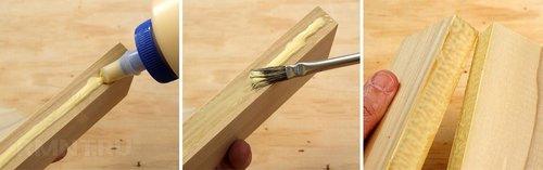 Склеивание деревянных деталей