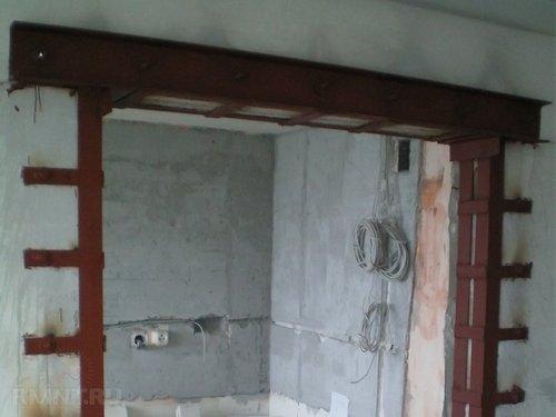 Как расширить дверной проём для металлической двери