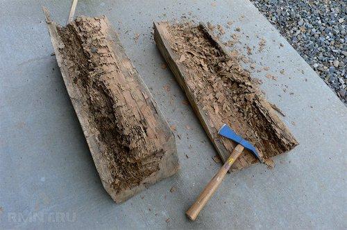 Как усилить деревянные балки перекрытия