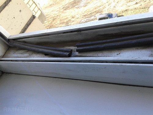 Как заменить уплотнители на ПВХ-окнах