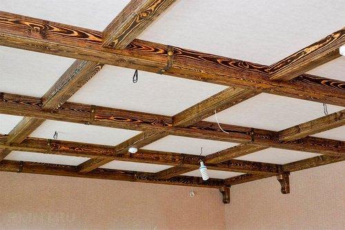 Кессонный потолок — особенности обустройства