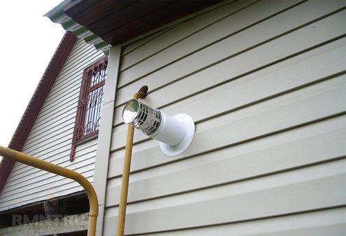 Коаксиальный дымоход для газовых котлов: плюсы и минусы