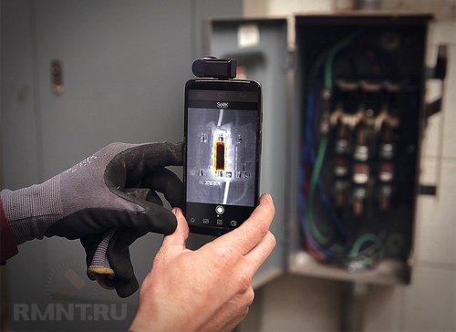 Компактный тепловизор Seek Thermal