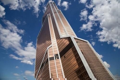 Первое место среди небоскребов Москвы: Меркурий Сити Тауэр