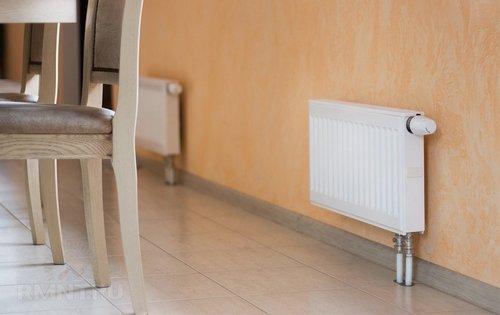 Панельные радиаторы с нижним подключением в отоплении дома