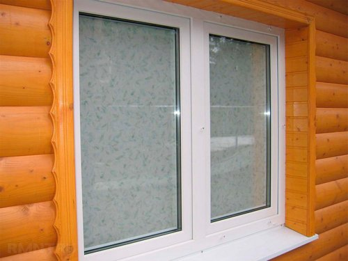 Откосы для окон в деревянном доме: варианты отделки