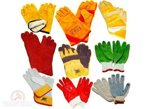 Перчатки, рукавицы, краги для ремонтных истроительных работ