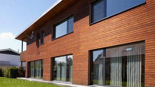 Планкен: плюсы иминусы при отделке фасада