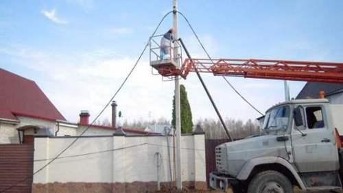 Сколько стоит провести электричество на участок