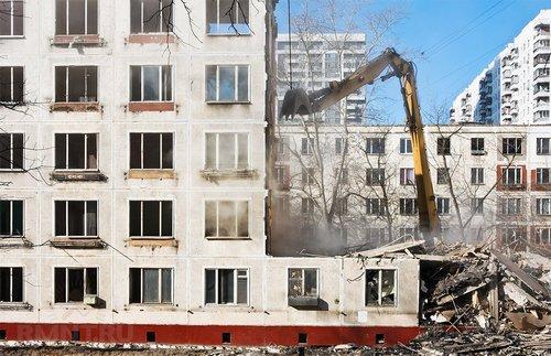 Программа реновации пятиэтажек в Москве