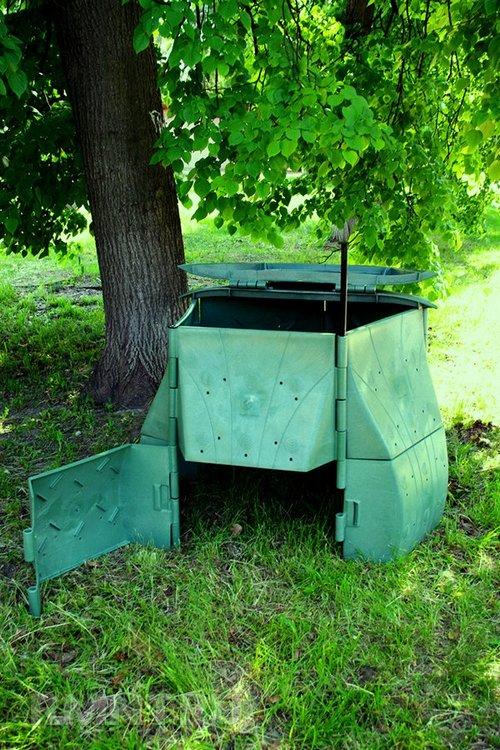 Садовый компостер из пластика