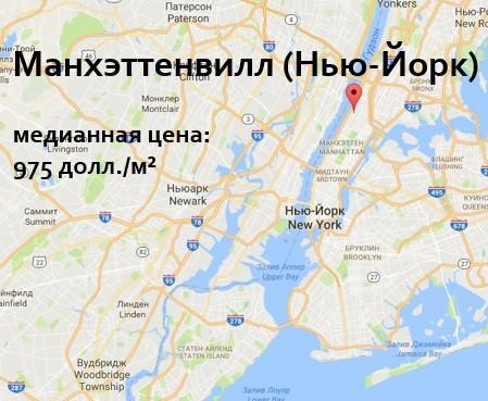 Недвижимость вНью-Йорке, Манхэттенвилл