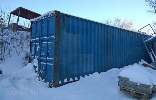 Хранение стройматериалов в зимнее время