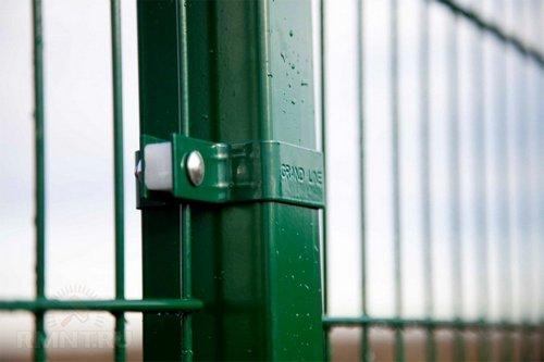 Забор Гиттер, или ограждение из 3D-сетки