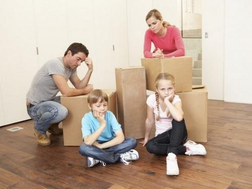 Выселение несовершеннолетних детей, из жилого помещения