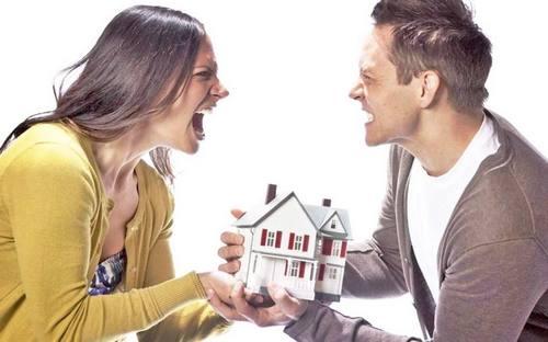 Ипотечная квартира, при расторжения брака