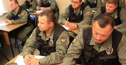 Продление лицензии, для охранников