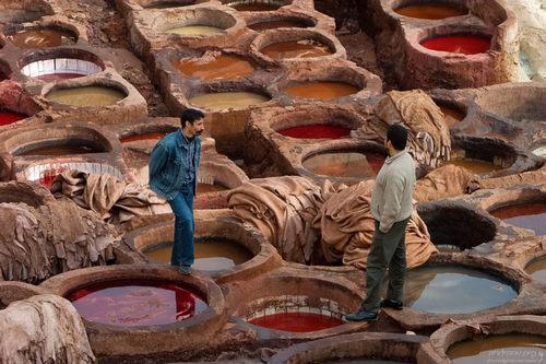 Работа в Марокко