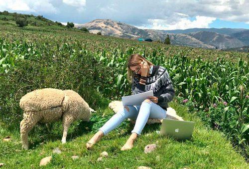 Работа в Перу