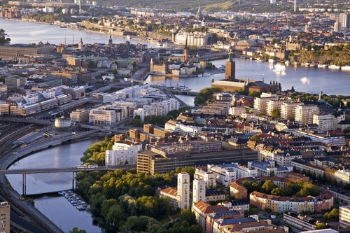 Работа в Стокгольме