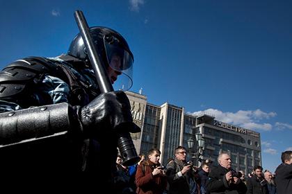 Обеспокоенность разгоном московских протестных акций