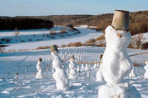 Фотоподборка: русская зима в деревне