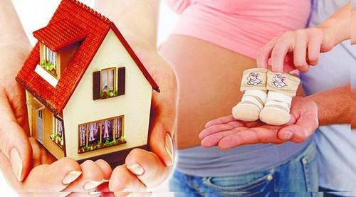 Использование материнского капитала при покупке квартиры