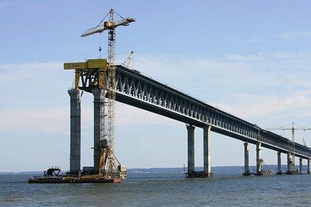 К строительству Керченского моста подключился «Мостотрест»