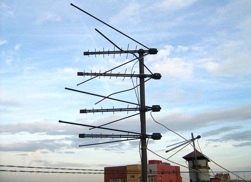 Коллективная телевизионная антенна