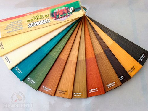 Как выбрать краски и лаки по дереву для внешних работ