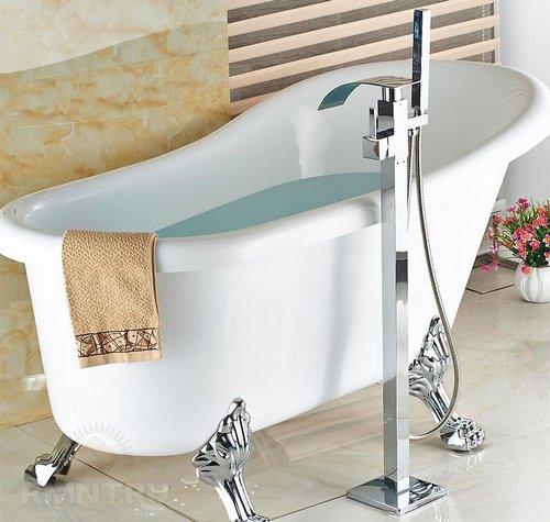 Каскадные смесители для ванной