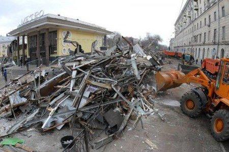 Кремль поддержал власти Москвы в вопросе сноса ларьков и павильонов