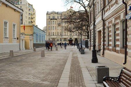 Москва потратит 4,9 млрд рублей на благоустройство улиц в центре