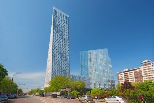 Жилой комплекс «Дом на Мосфильмовской»: 10 место и 213 метров в высоту