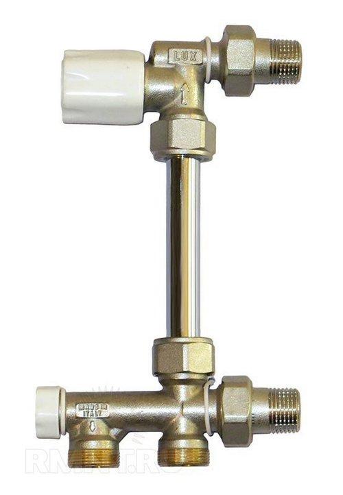 Термостатический узел для нижнего подключения радиатора