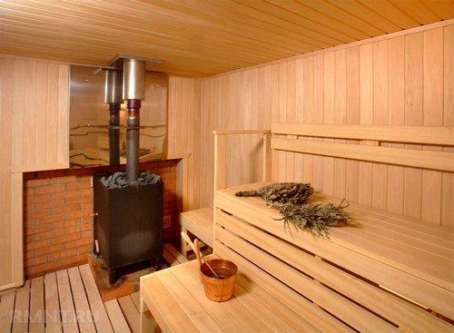 Парилки и предбанники — фото интерьеров бани
