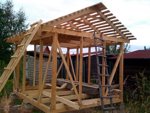 Шесть идей и советов по строительству сарая