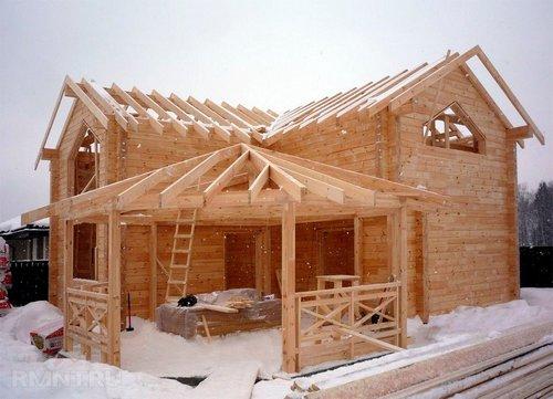 Строительство зимой — плюсы и минусы