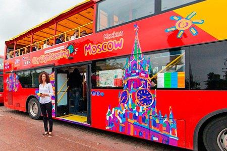 В 2016 году в Москве запустят двухэтажные электробусы для туристов