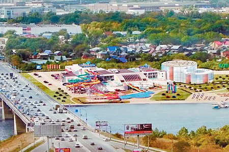 В Новосибирске построят крупнейший в стране крытый аквапарк