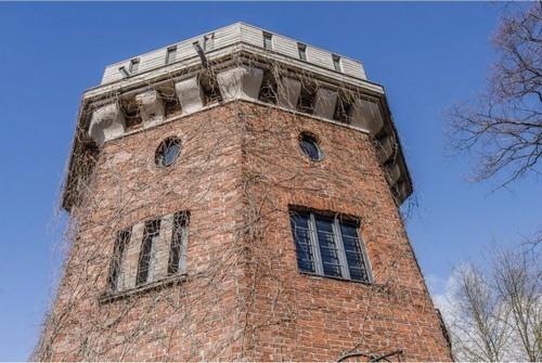 Старинная башня вХельсинки. Дом вХельсинки