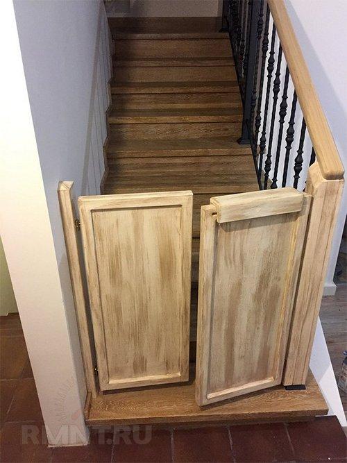 Защита на лестницу от детей