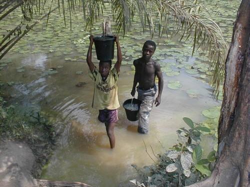Работа в Анголе