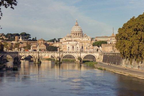Работа в Риме