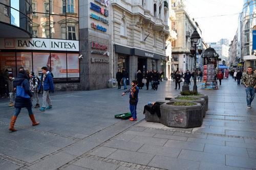 Работа в Сербии