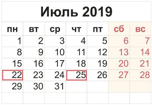 Срок сдачи 4 ФСС за 2 квартал 2019